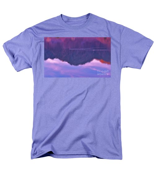 Lake Cahuilla Reflection Men's T-Shirt  (Regular Fit) by Michele Penner