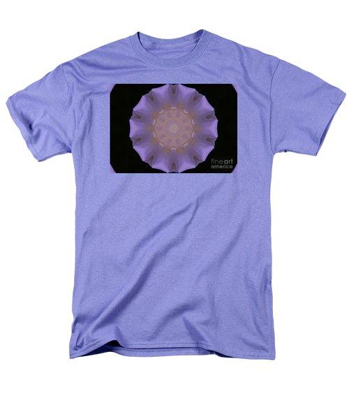 Lavender Pinwheel Men's T-Shirt  (Regular Fit) by Marilyn Carlyle Greiner