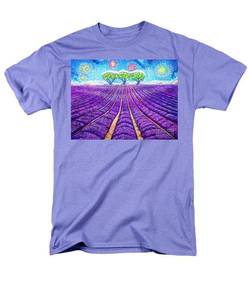 Lavender Men's T-Shirt  (Regular Fit) by Viktor Lazarev