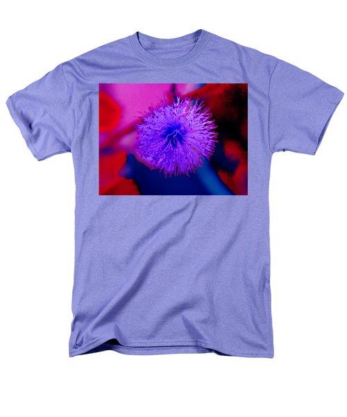 Light Purple Puff Explosion Men's T-Shirt  (Regular Fit) by Samantha Thome