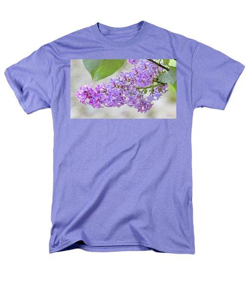 Lilac Cluster Men's T-Shirt  (Regular Fit) by Skip Tribby