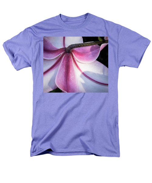 Men's T-Shirt  (Regular Fit) featuring the photograph Lilies Backside by Jean Noren