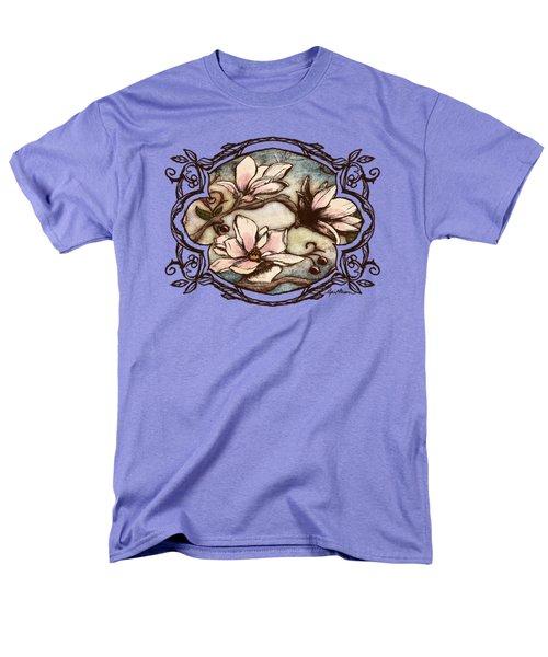 Magnolia Branch II Men's T-Shirt  (Regular Fit) by April Moen
