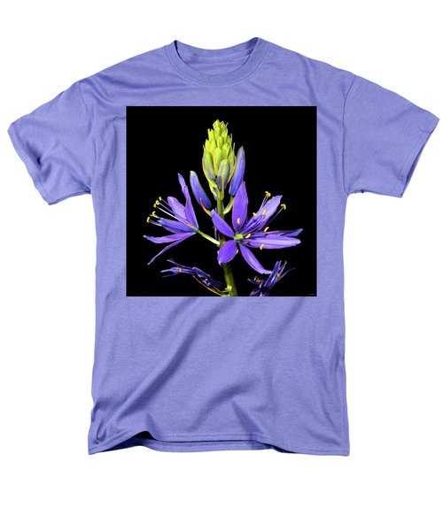 Meadow Hyacinth 002 Men's T-Shirt  (Regular Fit) by George Bostian