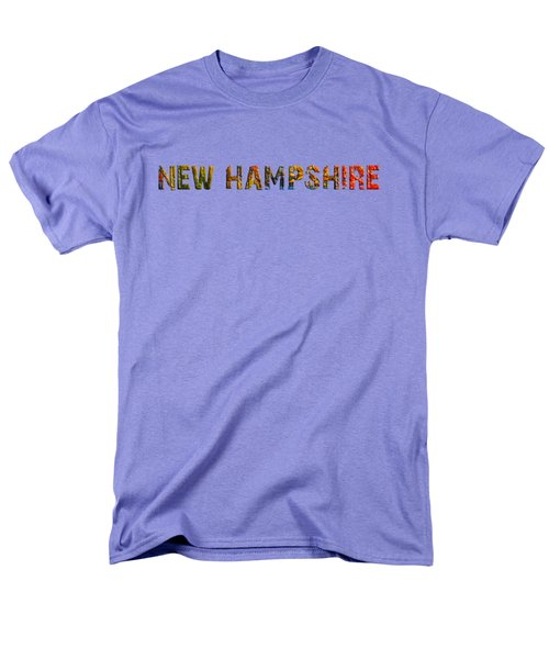 New Hampshire Is The Name Men's T-Shirt  (Regular Fit) by Mim White