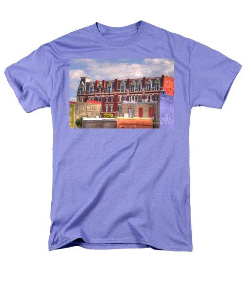 Old Town Wichita Kansas Men's T-Shirt  (Regular Fit) by Juli Scalzi