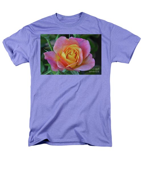 One Of Several Roses Men's T-Shirt  (Regular Fit) by Debby Pueschel