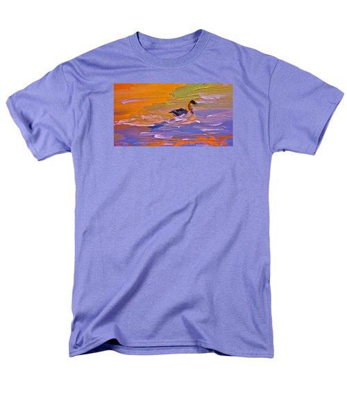 Painterly Escape Men's T-Shirt  (Regular Fit) by Lisa Kaiser