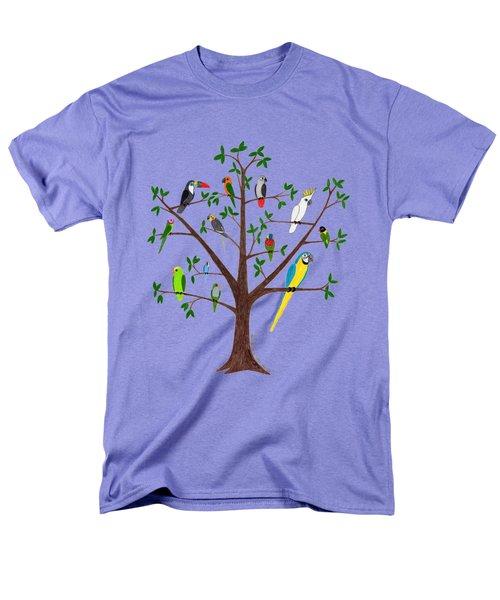 Parrot Tree Men's T-Shirt  (Regular Fit)