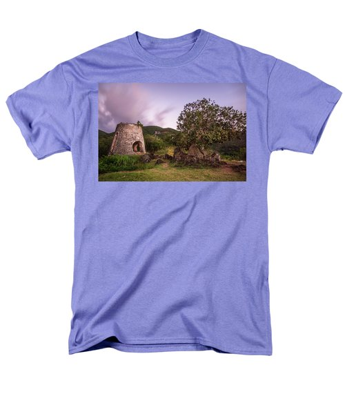 Men's T-Shirt  (Regular Fit) featuring the photograph Peace Hill Ruins by Adam Romanowicz