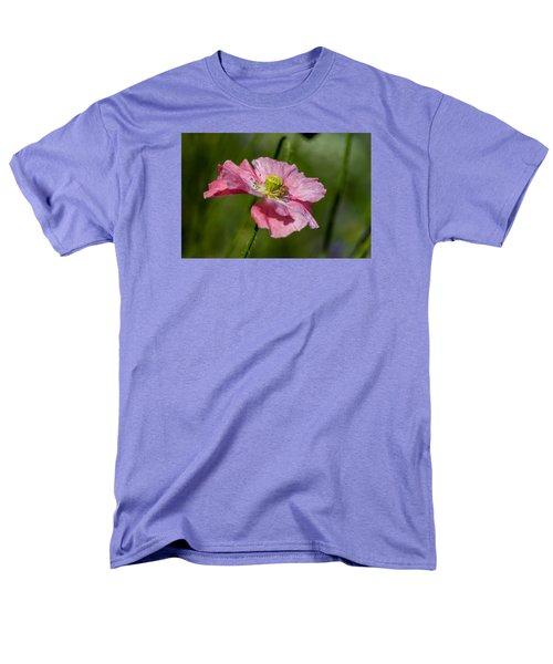 Pink Poppy Men's T-Shirt  (Regular Fit) by Martina Fagan