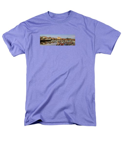 Men's T-Shirt  (Regular Fit) featuring the photograph Port Of Ferrol Galicia Spain by Pablo Avanzini