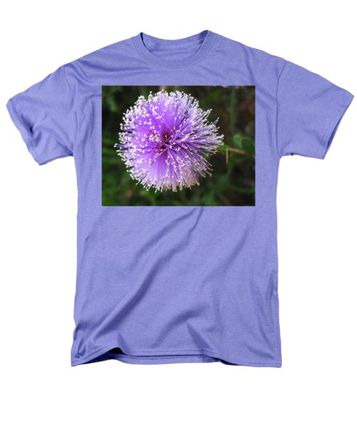 Men's T-Shirt  (Regular Fit) featuring the photograph Purple Orb by Mary Ellen Frazee
