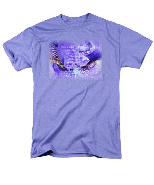 Pretty Purple - Verse Men's T-Shirt  (Regular Fit) by Anita Faye