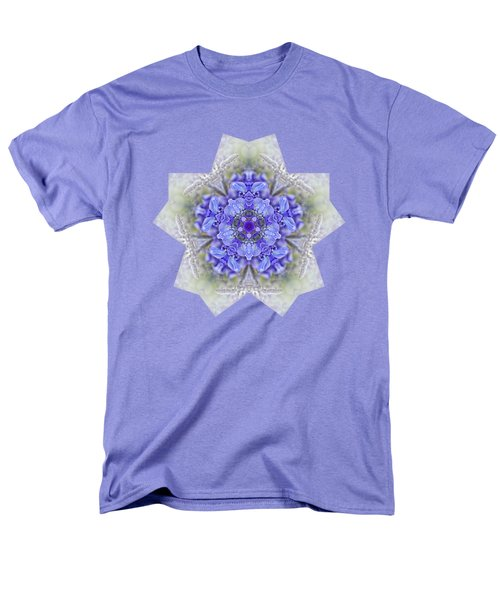Men's T-Shirt  (Regular Fit) featuring the photograph Pretty Wisteria Kaleidoscope By Kaye Menner by Kaye Menner