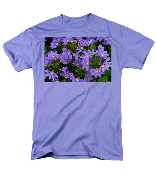 Men's T-Shirt  (Regular Fit) featuring the photograph Purple Perspective by Shari Jardina
