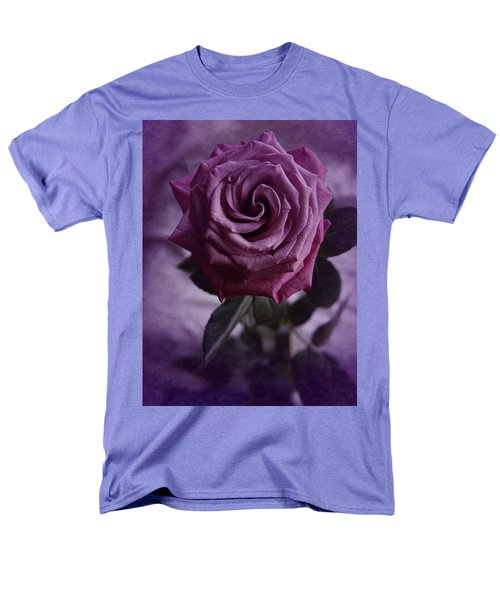 Purple Rose Of December Men's T-Shirt  (Regular Fit) by Richard Cummings