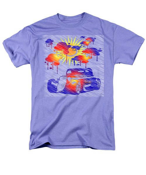 Rain Showers Men's T-Shirt  (Regular Fit) by EricaMaxine Price