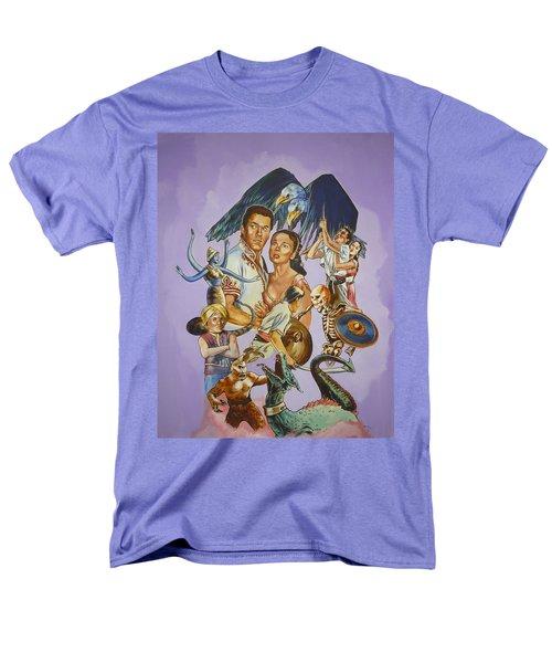 Ray Harryhausen Tribute Seventh Voyage Of Sinbad Men's T-Shirt  (Regular Fit) by Bryan Bustard