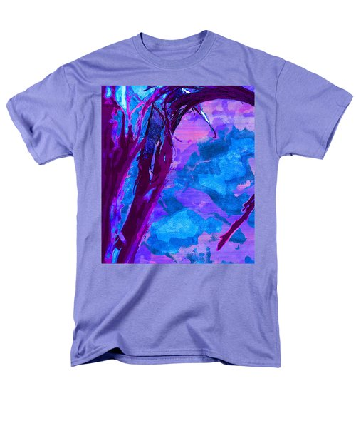 Reaching Into Blue Men's T-Shirt  (Regular Fit) by Samantha Thome