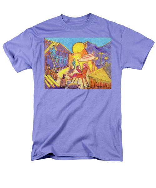 Rich Fool Parable Painting By Bertram Poole Men's T-Shirt  (Regular Fit) by Thomas Bertram POOLE