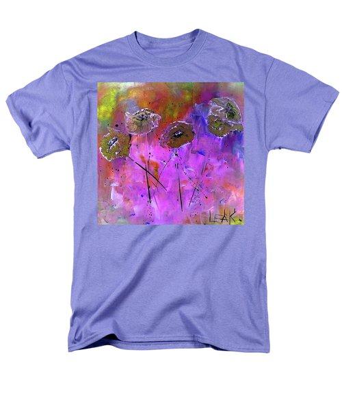 Snow Flowers Men's T-Shirt  (Regular Fit) by Lisa Kaiser