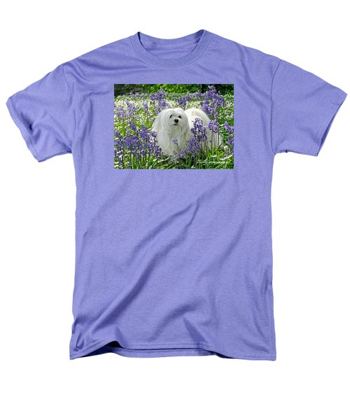 Snowdrop In The Bluebell Woods Men's T-Shirt  (Regular Fit)