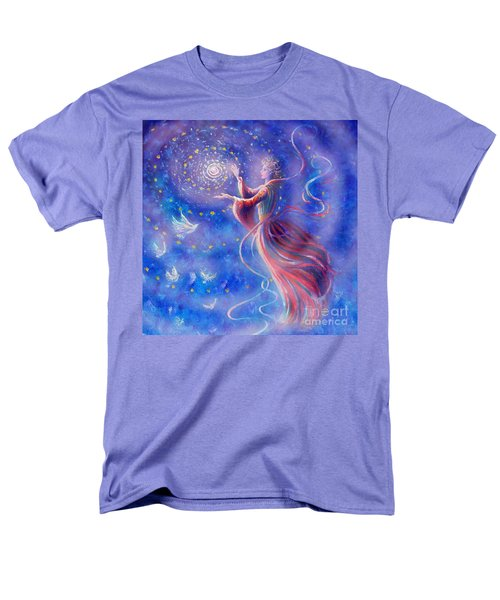 Sophia Finds Wisdom Men's T-Shirt  (Regular Fit) by Dee Davis
