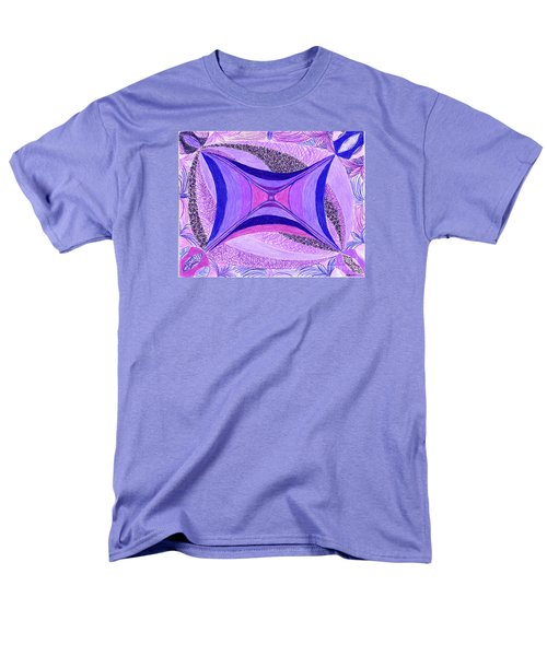 Men's T-Shirt  (Regular Fit) featuring the drawing Soulviolet by Kim Sy Ok