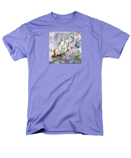 Spring Blossoms Men's T-Shirt  (Regular Fit) by Jean OKeeffe Macro Abundance Art