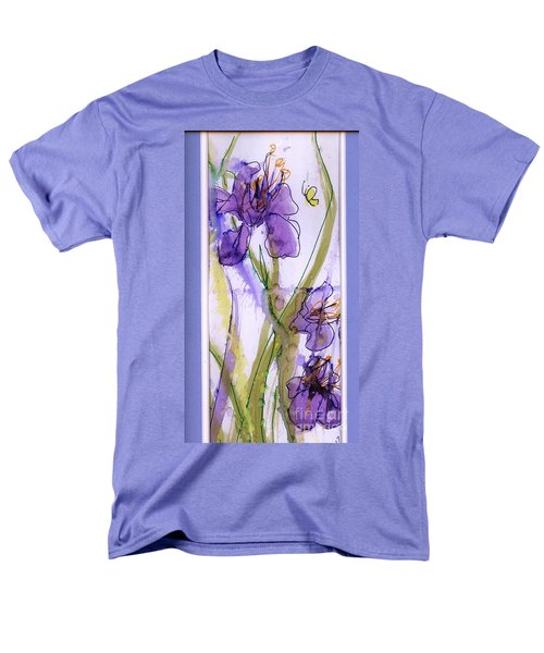 Men's T-Shirt  (Regular Fit) featuring the painting Spring Fling by P J Lewis