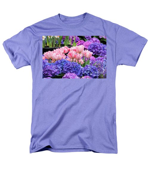Spring Flowers Men's T-Shirt  (Regular Fit) by Darleen Stry