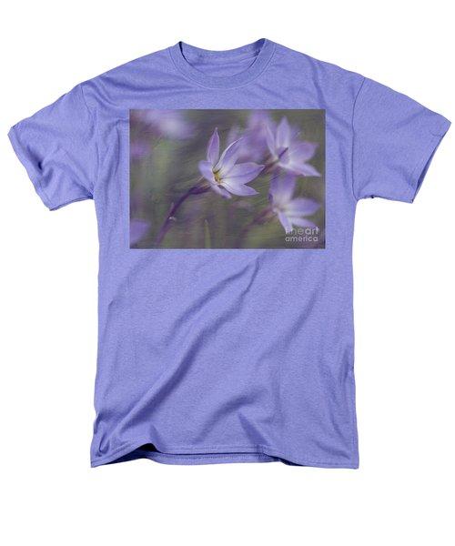 Spring Starflower Men's T-Shirt  (Regular Fit) by Eva Lechner