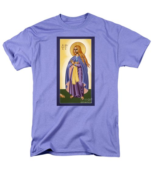 St Mary Magdalen Equal To The Apostles 116 Men's T-Shirt  (Regular Fit) by William Hart McNichols