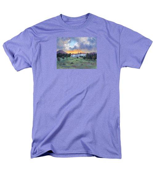 Stanley Hotel Sunset Men's T-Shirt  (Regular Fit)