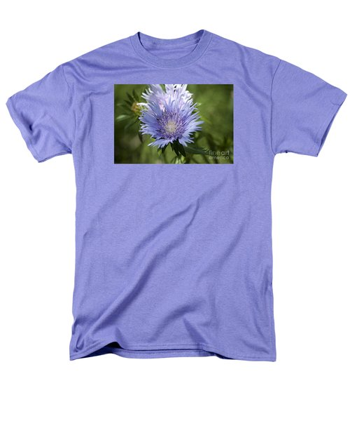 Men's T-Shirt  (Regular Fit) featuring the photograph Stokes Aster 20120703_125a by Tina Hopkins