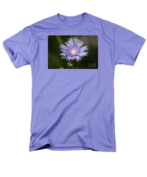 Men's T-Shirt  (Regular Fit) featuring the photograph Stokes Aster 20120703_129a by Tina Hopkins