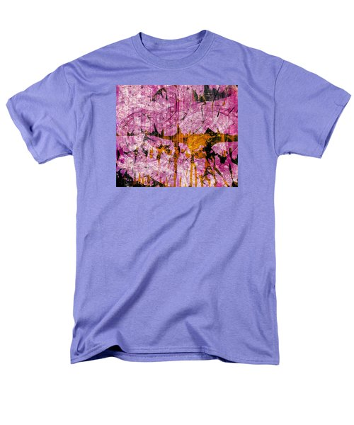 Men's T-Shirt  (Regular Fit) featuring the mixed media Submit A Dance   by Fania Simon