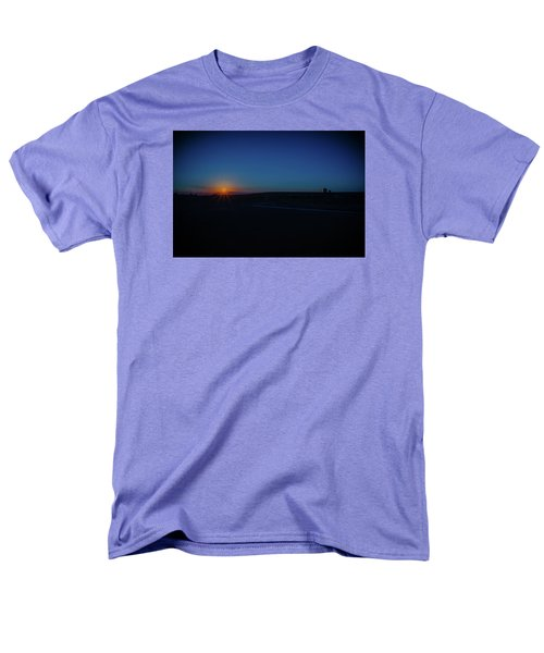 Sunrise On The Reservation Men's T-Shirt  (Regular Fit) by Mark Dunton
