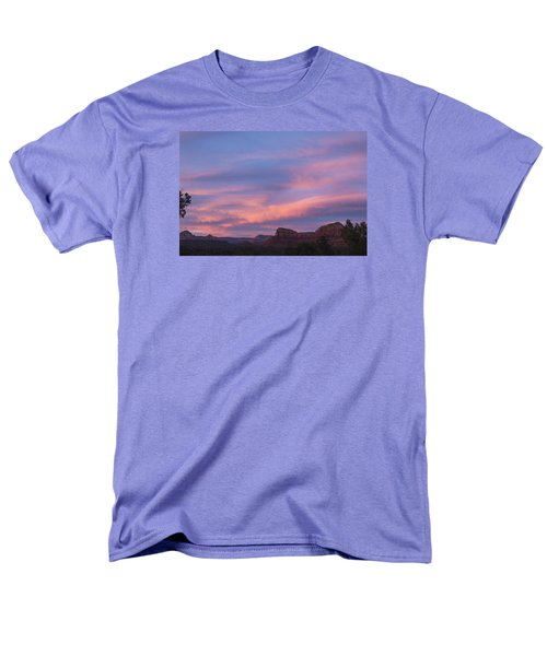 Sunset From Bell Rock Trail Men's T-Shirt  (Regular Fit) by Laura Pratt
