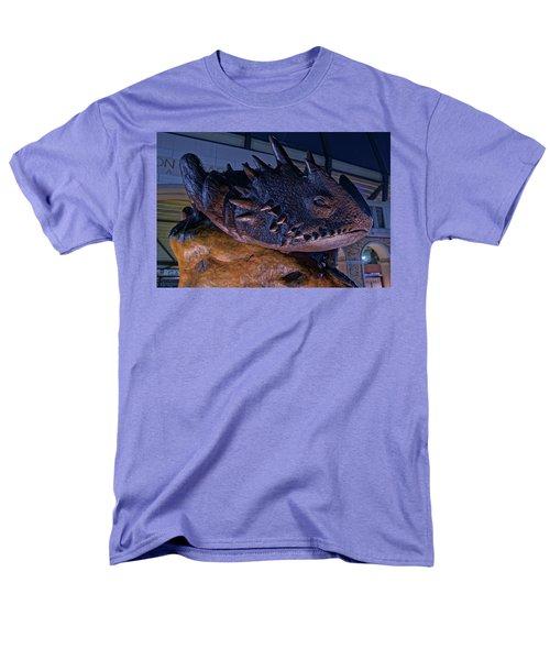 Tcu Frog Mascot Men's T-Shirt  (Regular Fit) by Jonathan Davison