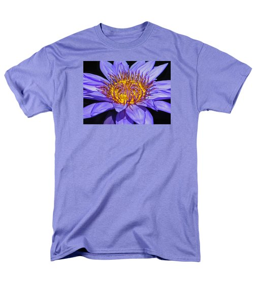 The Eye Of The Water Lily Men's T-Shirt  (Regular Fit) by Emmy Marie Vickers