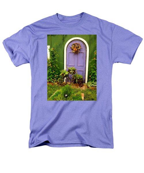 The Purple Door Men's T-Shirt  (Regular Fit) by Michiale Schneider