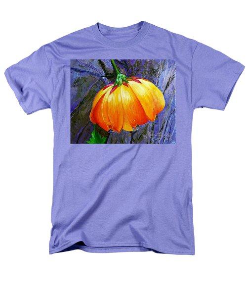 The Yellow Flower Men's T-Shirt  (Regular Fit) by Janet Garcia