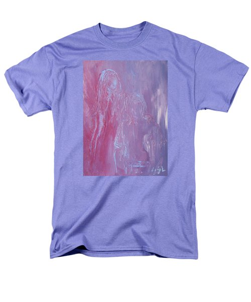 Men's T-Shirt  (Regular Fit) featuring the painting Togetherness by Jane See