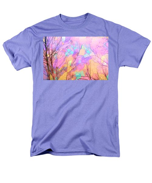 Men's T-Shirt  (Regular Fit) featuring the photograph Tree Dance by Kathy Bassett