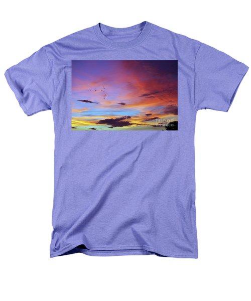 Tropical North Queensland Sunset Splendor  Men's T-Shirt  (Regular Fit) by Kerryn Madsen-Pietsch