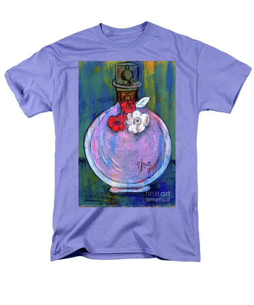 Men's T-Shirt  (Regular Fit) featuring the painting Valentina by P J Lewis