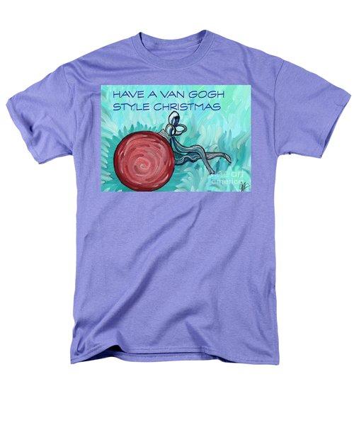 Van Gogh Style Xmas  Men's T-Shirt  (Regular Fit) by Gallery Messina