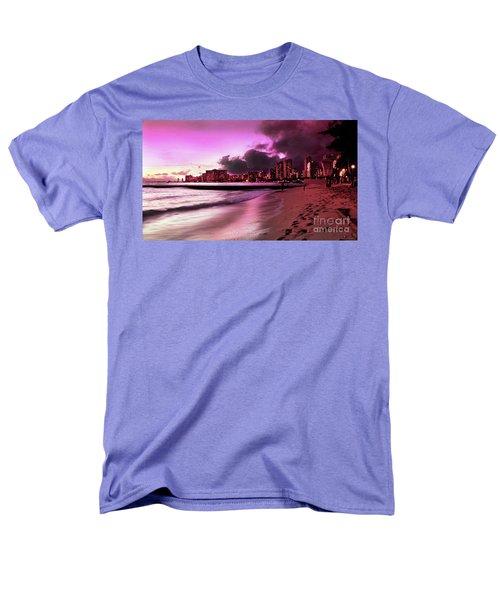 Men's T-Shirt  (Regular Fit) featuring the photograph Waikiki Twilight by Kristine Merc